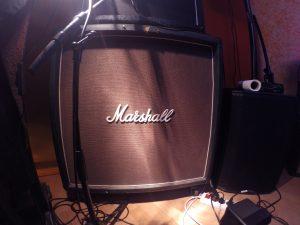 Marshal 4x12 SM57