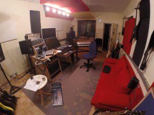 Aufnahmeraum Akustik